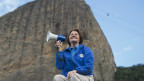Francisca, voluntária dos Jogos do Rio / Crédito: Comitê Rio 2016