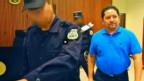 Pantallazo de video del juicio a Reynerio Flores, tomado de YouTube y publicado por Prensa Gráfica de El Salvador