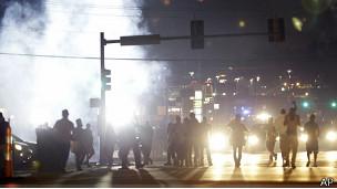 protesta en Ferguson, Misuri