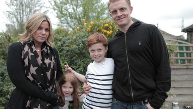 Família britânica | Foto: BBC