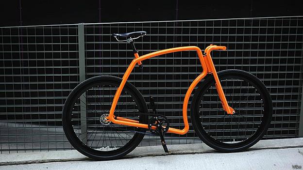 Bicicleta de Urbana de Acero Viks