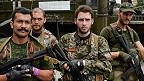 voluntarios franceses combaten con separatistas prorrusos en Ucrania