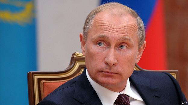 Vladimir Putin en Minsk