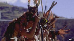Indígenas de Perú, foto de archivo