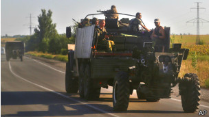 Сепаратисты на востоке Украины