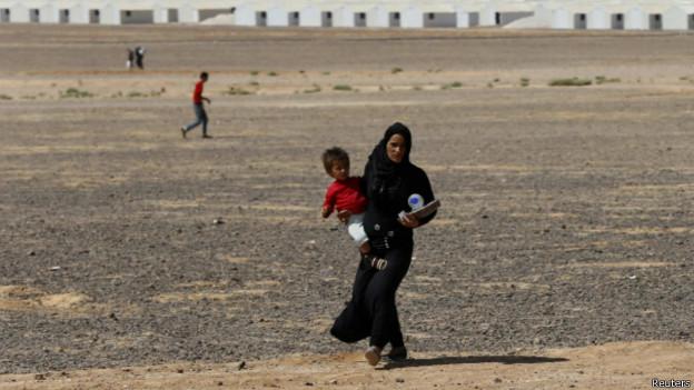 Refugiados sírios (Reuters)