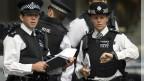 Policiais em Londres (Getty)