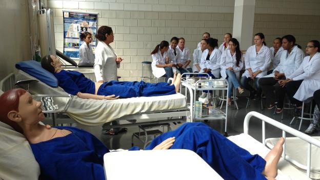 Técnico em enfermagem (Foto BBC)