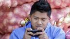 Transacciones vía móvil
