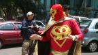 Superbarrio, pionero de los héroes urbanos de México. Foto: BBC