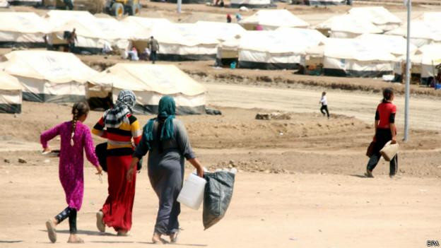 Yazidi (EPA)