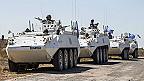 Soldados fuerzas de paz de la ONU