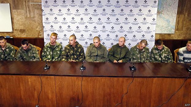 Пресс-конференция десантников