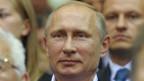 Vladimir Putin en Siberia