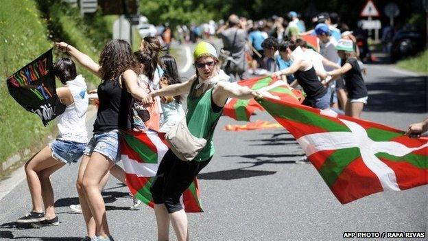 Marcha en el País Vasco