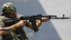 Combatiente español en Ucrania