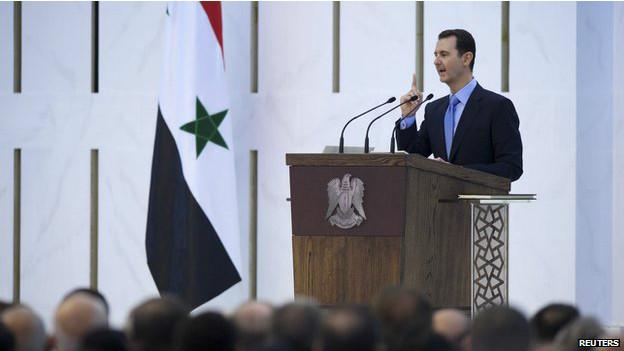 Bashar al Asad (foto de archivo)
