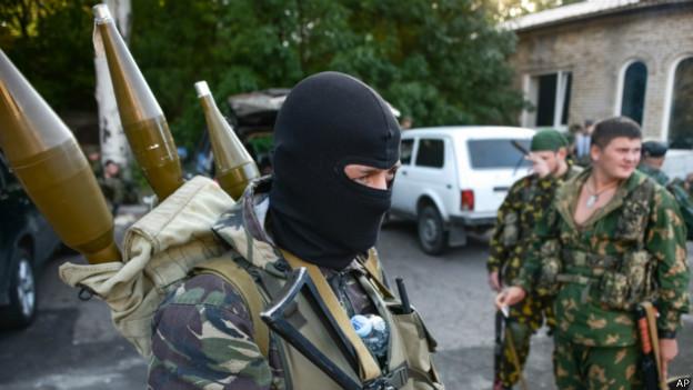 Пророссийские сепаратисты