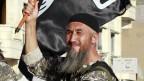 Combatiente de Estado Islámico en Raqqa, Siria, a fines de junio de 2014