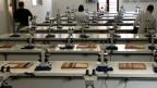 Aula de enfermagem do Pronatec na Faculdade Anhanguera (Foto BBC)
