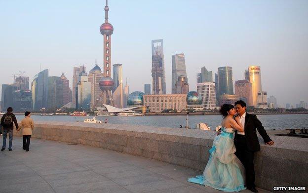 BBC记者来鸿:中西合璧 上海婚礼的文化冲撞