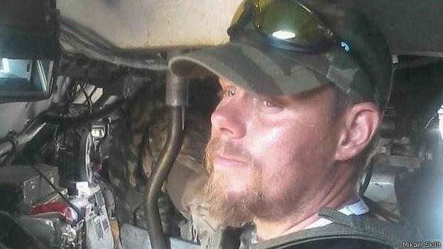 Sueco luta com o governo ucraniano / Crédito: Mikael Skillt
