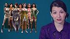 Captura del video de Anita Sarkeesian.