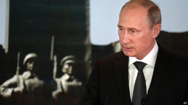Presidente russo Vladimir Putin (Foto: AP)