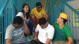Jovens na organização comunitária Unas, em Heliópolis (BBC Brasil)