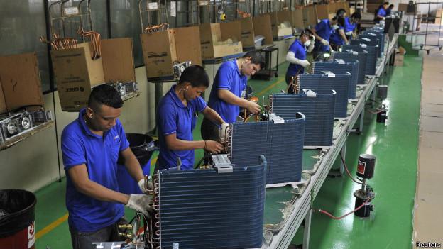 Imagem de arquivo de produção em Manaus