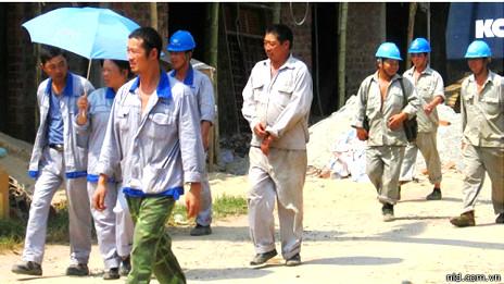 Lao động TQ ở Việt Nam