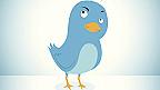 Pájaro símbolo de Twitter.