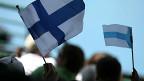 Banderas de Finlandia