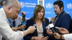 Dr. Marie Keny, da OMS / Crédito: AFP