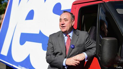 Alex Salmond, primer ministro escosés