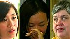 Esposas de tripulantes y pasajeros del vuelo MH370