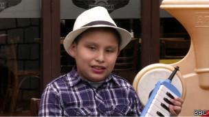 José André Montaño em La Paz | Foto: BBC