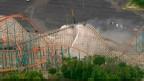 Montanha-russa Colossus nos EUA| Foto: BBC