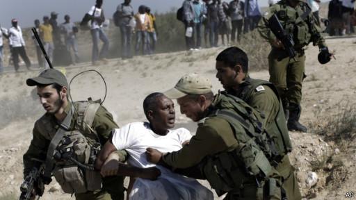 Tentara Israel dan pendatang Afika