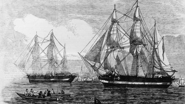 Корабли экспедиции Франклина