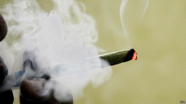 Дым самокрутки