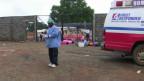 Pacientes na Libéria (BBC)