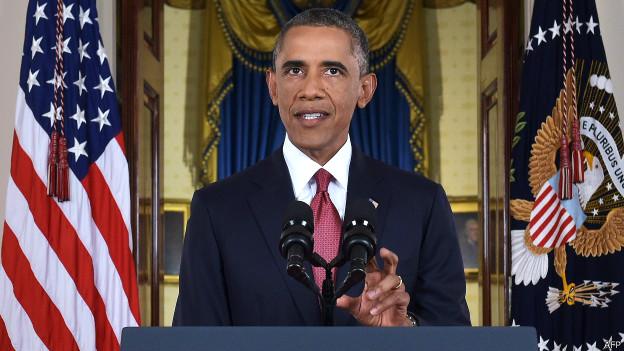 'Não hesitarei em atacar o Estado Islâmico na Síria', diz Obama