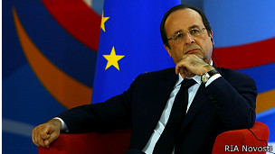 Президенты Порошенко и Олланд