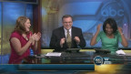 Morcego invade estúdio e assunta apresentadores de TV