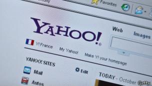 Страница Yahoo