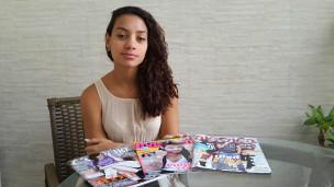 A estudante de Jornalismo Isabela Reis (Arquivo Pessoal)