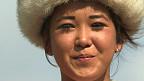 Dzangil Dairbekova, joven nómada de Kirguistán