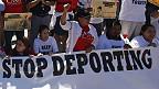 deportaciones, protesta