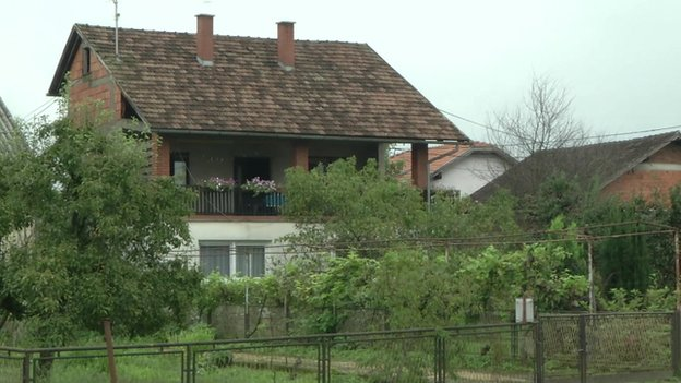 Casa donde vivía David Haines
